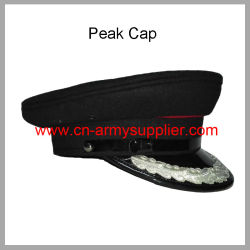 Wholesale Cheap China Army Navy Blue Military Police Officer Cap