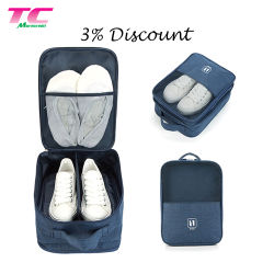 High Quality Custom Waterproof Portable Polyester Storage Outdoor Sport Golf Travel Shoe Bag