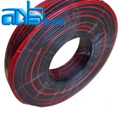 flat 2 core car rca audio speaker wire cable