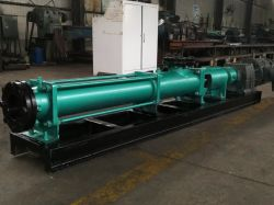 Single Screw Pump Oil Slurry Progressive Cavity Pump