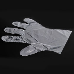 Disposable PE Hand Glove Examination Gloves Customzied Package and Size