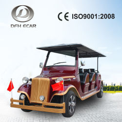8 Person Ce Approved environmental Protection Electric Vintage Sightseeing Car