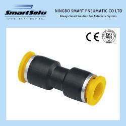 One Touch Push in Hydraulic Plastic Metal Pneumatic Fittings