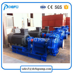 High Efficiency Electric Horizontal Centrifugal Slurry Pump with Belt Driven