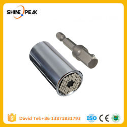 Multi Function Etc 120A Universal Adjustable Torque Ratchet Socket Wrench  Set Power Drill Adapter