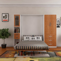 Hot Sale Model Wholesale Folding Wooden Bed Single Bed Price