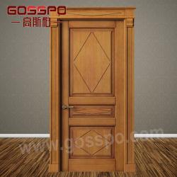 Classic Interior Solid Cherry Wooden Room Door (GSP2 077)
