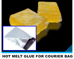 High Adhesion Good Temperature Resistance DHL Plastic Express Courier Envelope Bag Hot Melt Adhesive Glue