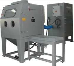 Dry - Suction Sandblasting Machine for Medium-Sized Parts or Batch Processing