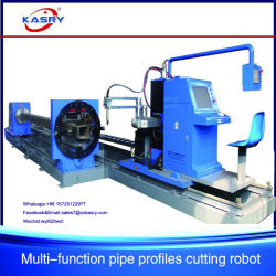 3 Axis Pipe CNC Plasma Cutting-off Machinery
