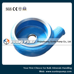 High Chrome Alloy Slurry Pump Parts for Coal Mine