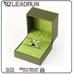 Leather Velvet Jewelry Storage Box Souvenir Present Bangle Cufflink Packing  Gift Box (YSP135)