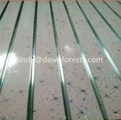 Slot MDF/Plain/Wood Veneer/PVC/HPL/UV/Melamine Laminated MDF