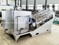 Automatic Sludge Dehydrator Volute Screw Filter Press for Mud Waste Water Treatment Slurry Mud Sewage Dewatering Treatment Machine