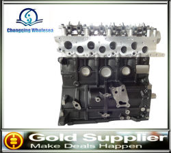 auto spare parts car engine long cylinder block for mitsubishi 4d56