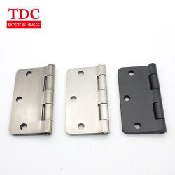 4 Inch Stainless Steel 2bb Furniture Accessories Door Non Mortise Hinge For Interior Doors Shutter