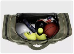 Factory Wholesale Large Size Multifunctional Gym Sport Polyester Traveling Duffel Bag