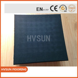 Industrial Raw Material SBR Rubber Sheet Natural Rubber Slabs for Gym Center Fitness Sports Court