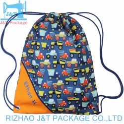 Factory Audit Custom Eco-Friendly School Sport Backpack Cotton Drawstring Bag