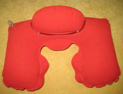 Soft Beads Filling Travel Music Pillow-Y014