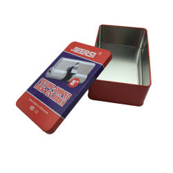Wholesale Key Lock Tin Box Packaging Box for Promotion