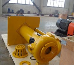 Metal and Rubber Vertical Slurry Pump (R)