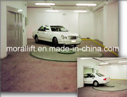 Home-using Automatic Revolving Garage Auto Parking Car Turntable