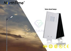 18W Automatical Phone APP Control LED Solar Lamp Street Light