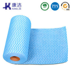Big Roll of Nonwoven Fabric Multi Purpose Cleaning Wipe/Tissue/Cloth