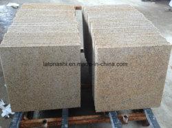 G682 Rustic Yellow Granite For Slab Tile Paver Countertop