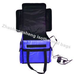 Pizza Food Delivery Bags with 12V DC Heating Electric