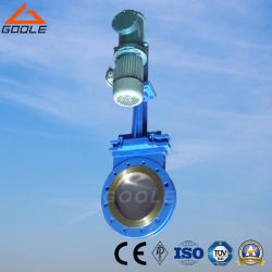 Electric-Hydraulic Short Type Wafer Ceramic Slurry Knife Gate Valve (GPZ273TC)