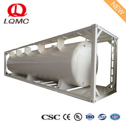 Widely Used 20FT 40FT Fuel Oil ISO Tank Container with Low Price, ISO Tank Containers for Oil, 20 Feet Tank Container