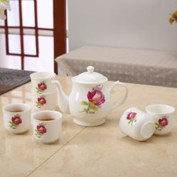 European Porcelain Ceramic Tea Set Ceramic Dinnerware Tea Set Coffee Set & China Dinnerware Sets European Dinnerware Sets European ...