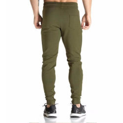 Mens Sports Gym Fitness Wear Tapered Bottom Custom Gym Pants