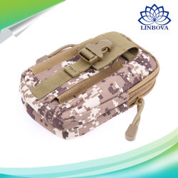 Men Tactical Fashion Waist Bag Waist Pack Bag Small Pocket Military Camouflage Running Travel Camping Bags