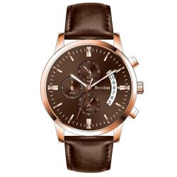 Exquisite Design Chronograph Watch Stop Watch Leather Watch Men Watch Sport