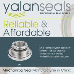ZWJ Mechanical Seals for Paper-making Equipment, Alumina Plants, Flue Gas Desulphurization, Deashing System and Slurry Pumps