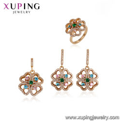 New Tend Luxury African Style Fashion Earring Jewelry with Cubic Zirconia for Mother's Day Gift