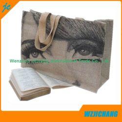 Promotion Reusable 100% Natural Cotton Textile Fabric Carrier Bags