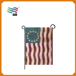 Popular Printed House Decorate Garden Flag (HY09124)