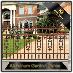 Wholesale & Low Price Powder Coated Cast Black Aluminum Fence for Garden