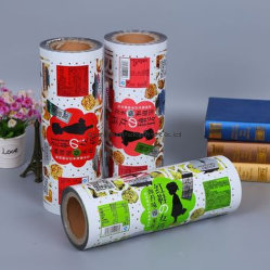 Pet/VMPET Composited Metalized Plastic Film as Packaging Stock in Rolls