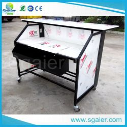New Design Mobile Portable Lighted Mini Bar Counter Design LED Bar