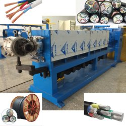 Power Cable Sheathing Extruder Machine