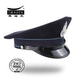 Plain Snapback Crazy Military Officer Hat