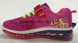 Lady Sports Running Footwear with Flyknit Upper Air Condition Women Sneaker Shoes (621)