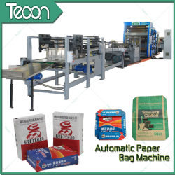 High-Speed Automatic Tuber Machinery of Cement Paper Bag