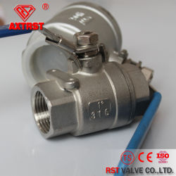 1000wog Stainless Steel Floating Thread 2PC Ball Valve