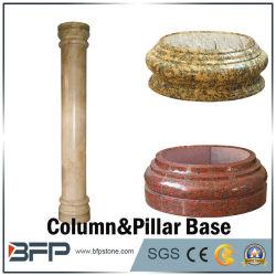 Roman Column Base, Granite/Marble Pillar Base for Decoration